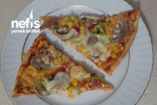 Ev Yapımı Dominos Pizza (Videolu) Tarifi