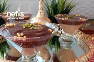 Karamelli , Çikolatalı Puding (Lezzet Bombası ) Tarifi