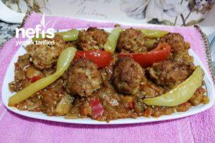 Köz Patlıcan Kebabı Tarifi