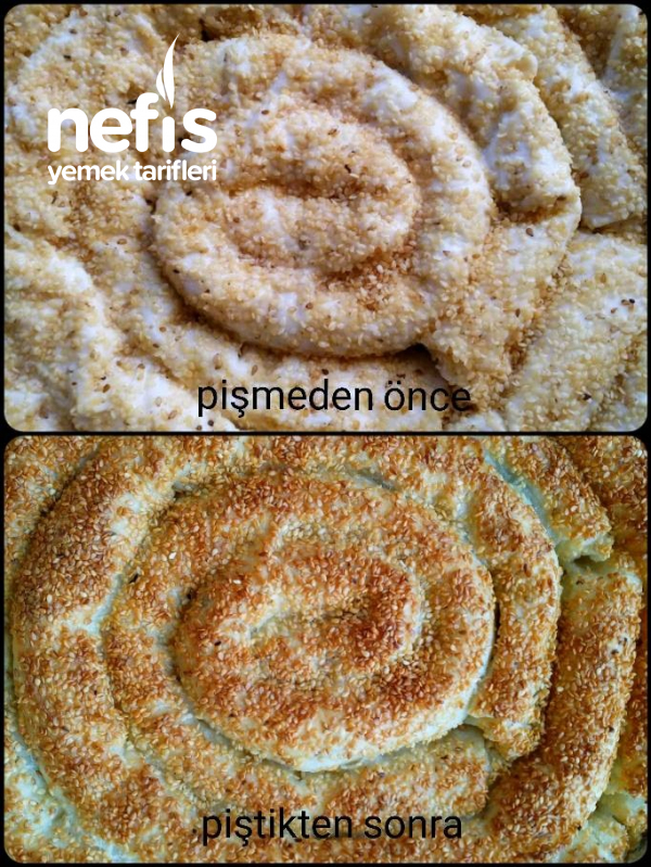 Simit Börek ( Özel Sosuyla)