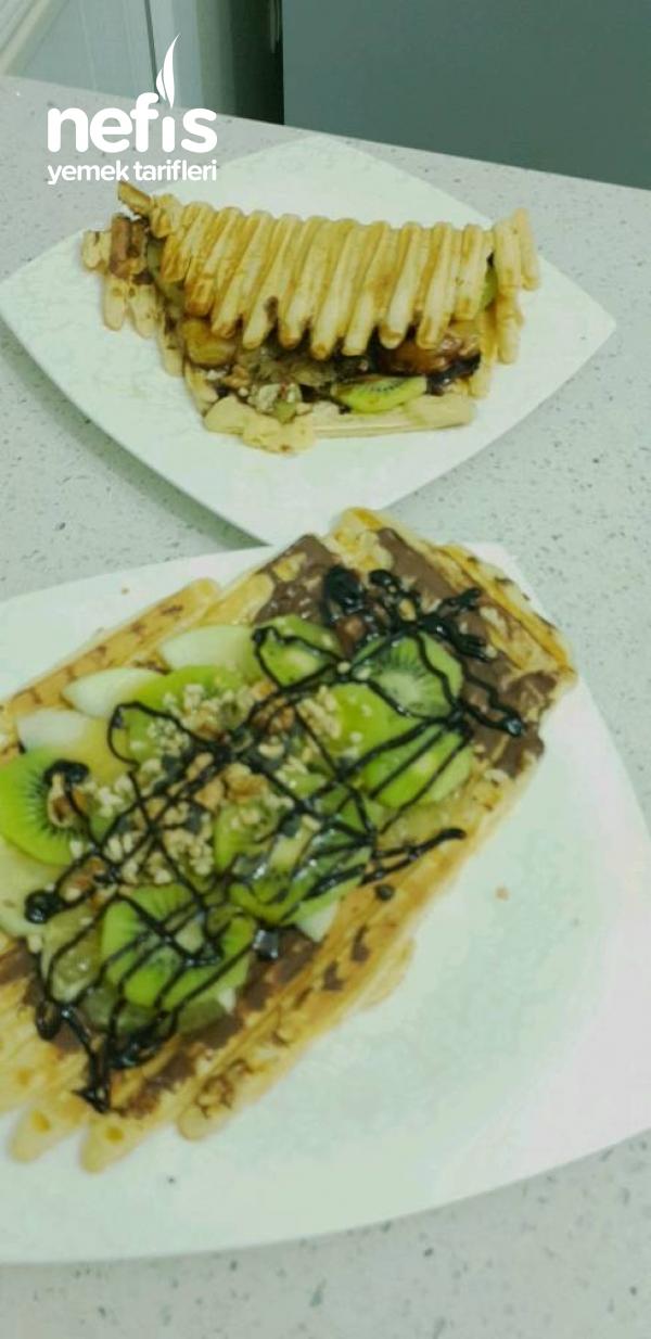 Waffle- Ev Yapımı