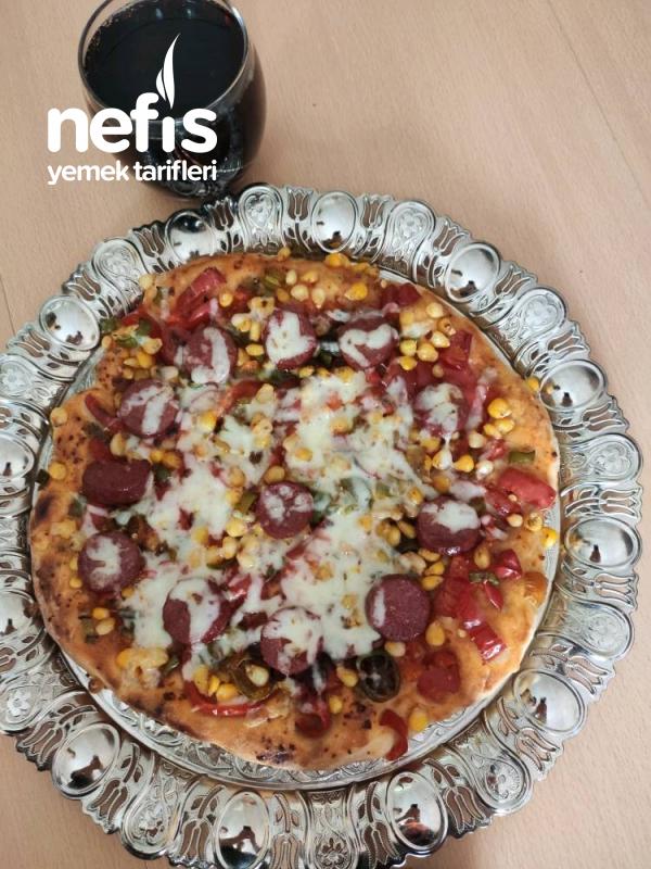 5dk Da Pizza Yapımı