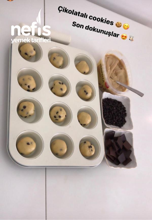 Çikolatalı Cookies