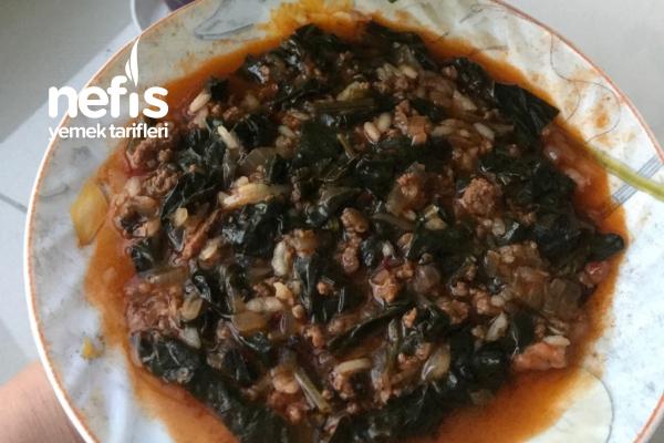 Ispanak Yemeği (Kıymalı) Tarifi