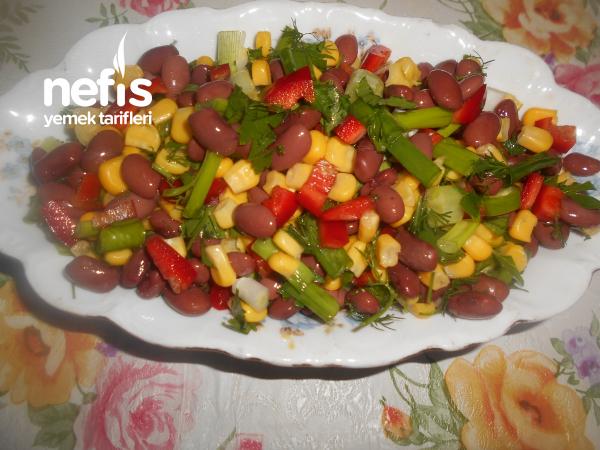 Kırmızı Meksika Fasulyeli Salata