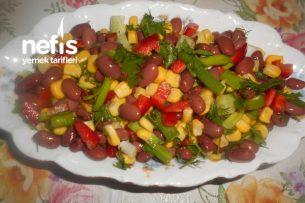 Kırmızı Meksika Fasülyeli Salata Tarifi