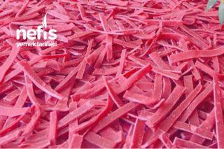 Kırmızı Pancarlı Erişte Tarifi
