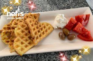 Patatesli Waffle Tarifi