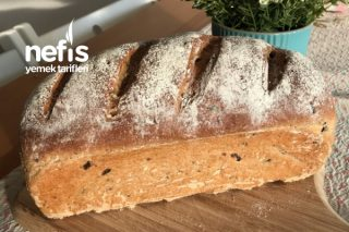 Zeytinli Kekikli Çavdar Ekmeği Tarifi