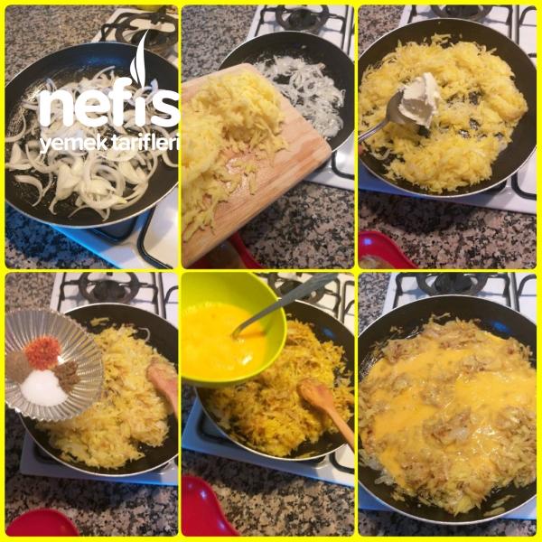 2 Patates İle Mukemmel Kahvaltılık Tarif