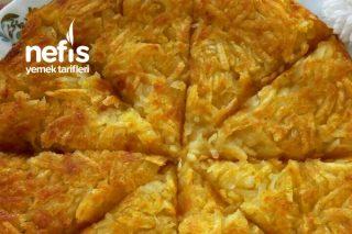 3 Malzemeli Patates Böreği ( Patates Röşti ) Tarifi