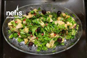Elmalı Ayvalı Salata (Balık Yanına) Tarifi