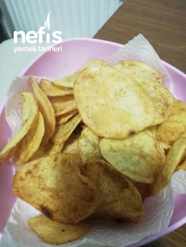Ev Yapımı Çıtır Çıtır Patates Cipsi