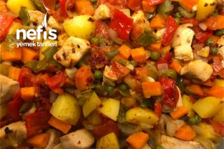 Fırında Tavuk Kebabı Tarifi