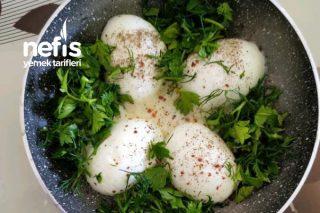 Kahvaltılık Zeytinyağlı Yumurta Kapama Tarifi