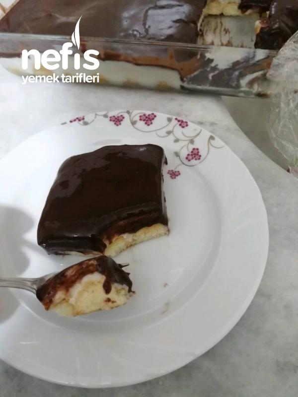 Kremalı Kedı Dılı Pastası (Tam Tarıf)