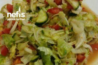 Çok Lezzetli Diyet Salatası Tarifim
