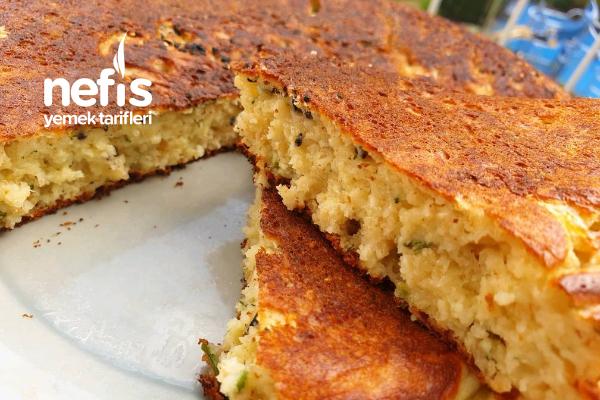 Dereotlu Peynirli Tava Keki Tarifi