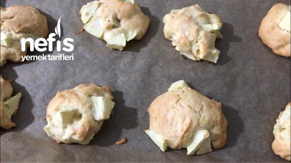 Elmali Kek Tadinda disi Citir İci Yumusacik Kurabiye ( Videolu)