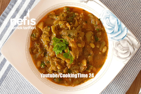 Patatesli Taze Fasulye Tarifi (Videolu)