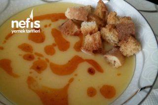 Pratik Patates Çorbası (Terbiyesiz) Tarifi