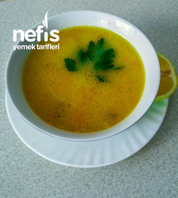 Şifa Çorbası ( Pirinçli Havuçlu Tavuk Çorbası)
