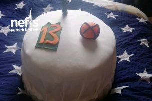 Basketbol Temalı Yaş Pasta Tarifi
