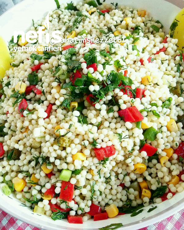 Kuskus Makarna Salatası vazgeçilmez Lezzet