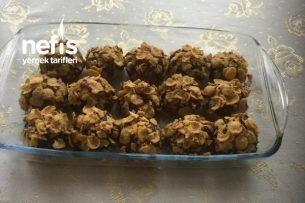 Mısır Gevrekli Çikolata Kaplı Kurabiye Tarifi