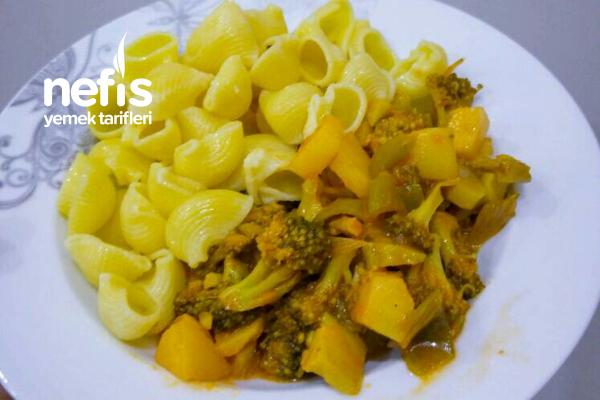 Patatesli Brokoli Yemeği Tarifi