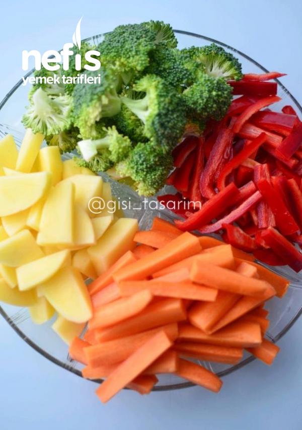 Sirkeli Brokoli Salatası