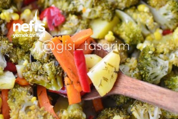 Sirkeli Brokoli Salatası Tarifi