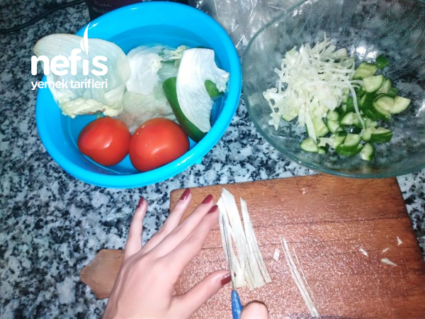 Tavuklu Mayonezli Salata