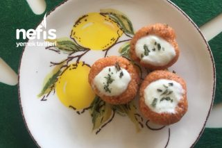 Yoğurtlu Bulgurlu Patates Çanağı Tarifi