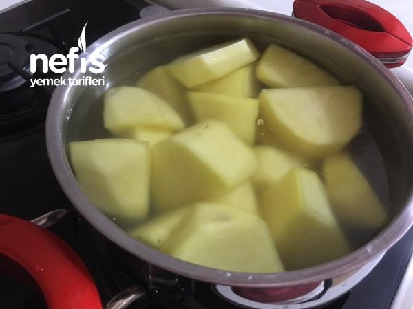 Yoğurtlu Bulgurlu Patates Çanağı