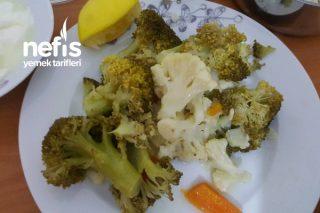 Zeytinyağlı Brokoli Karnabahar Tarifi
