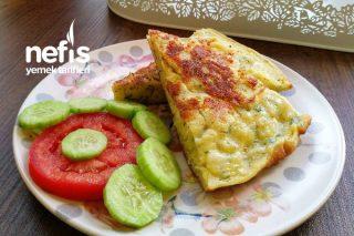 Börek Tadında Otlu Nefis Kahvaltılık Tarifi