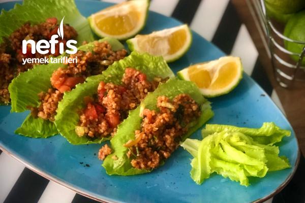 Bulgur Salatası (Kısır Tadında) Tarifi