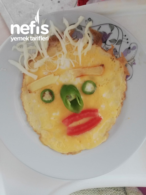 Çocuklara Yumurtayı Sevdiren Omlet