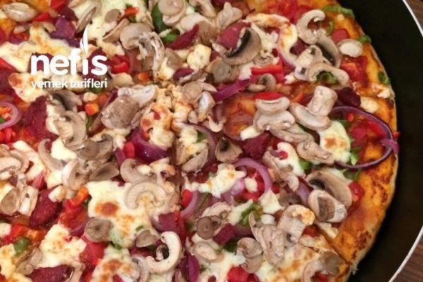 Bol Malzeme Pizza Tarifi
