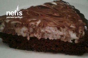 Ebruli Tart Kek (Süt Yok) Tarifi