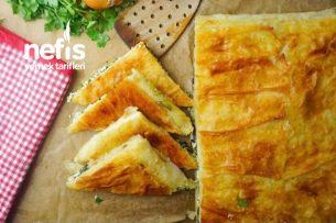 Ispanaklı Selanik Böreği Tarifi
