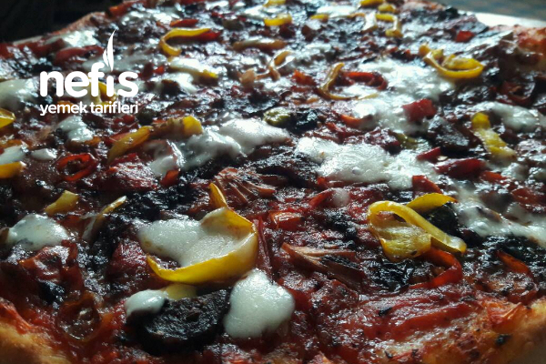 Lezzeti Mükemmel Pizza Tarifi