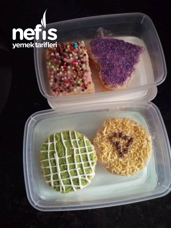 Porsiyon Pastalarıım (Çok Pratik Ve Lezzetli)