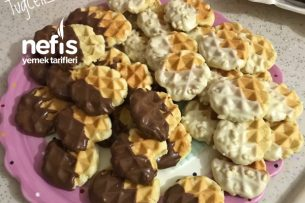 Waffle Kurabiye Tarifi