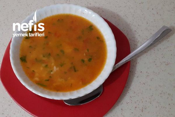 Domatesli Pirinç Çorbası (Videolu) Tarifi