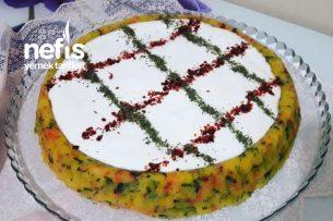 Tart Kalıbında Yoğurtlu Patates Salatası Tarifi