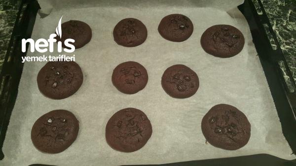 Enfes Çikolatalı Cookie