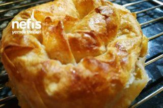 Patatesli Gül Böreği ( Doyurucu Ve Nefis Bir Börek ) Tarifi