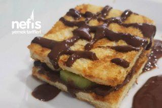 Tost Ekmeğinden Waffle Tarifi